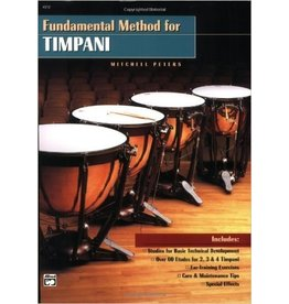 Alfred Music Fundamental Method for Timpani