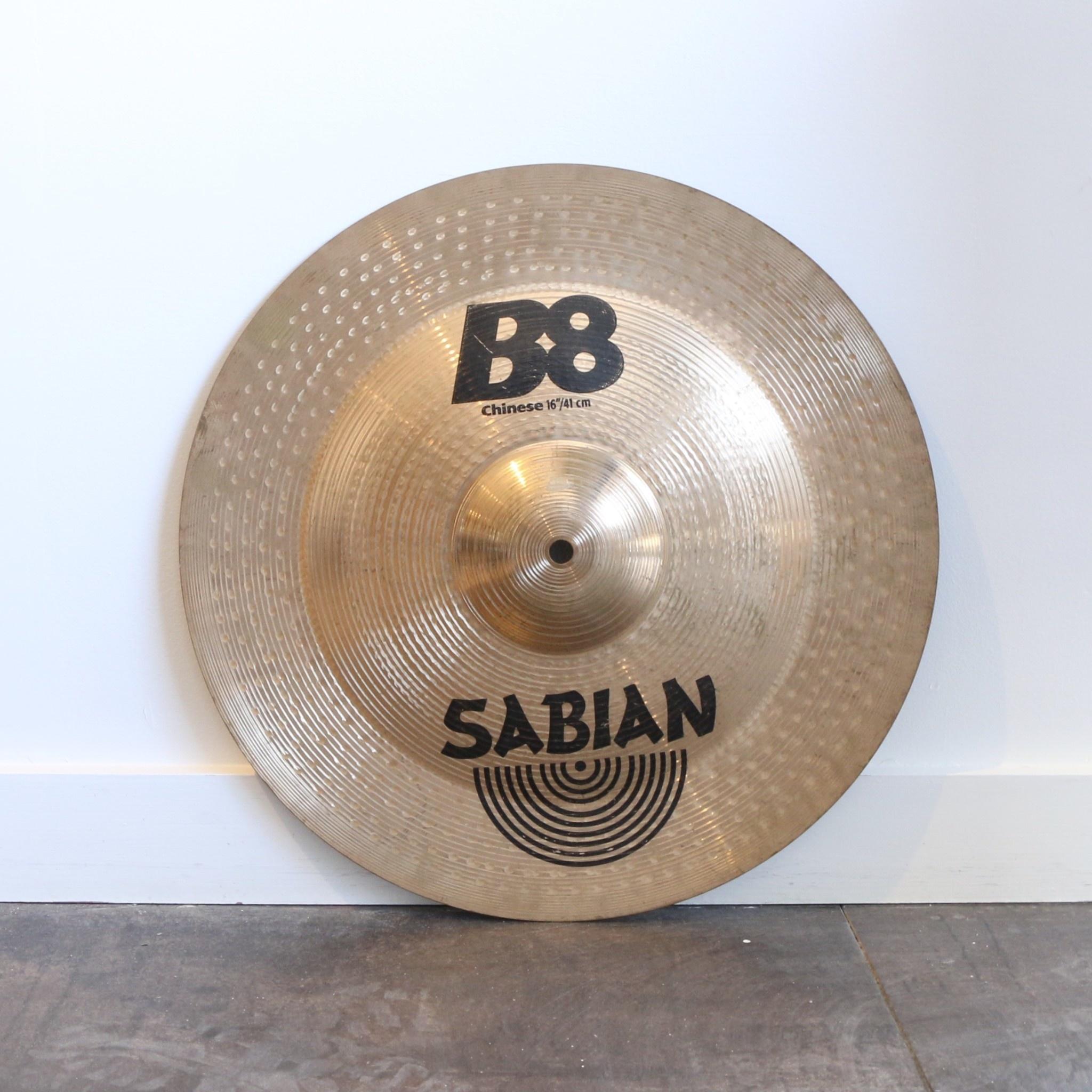 Sabian Used Sabian B8 Chinese Cymbal 16in