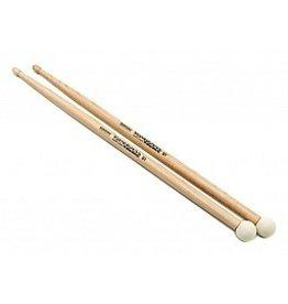 Rohema Percussion Baguettes Rohema à double extrémité Kombi (feutre moyen)