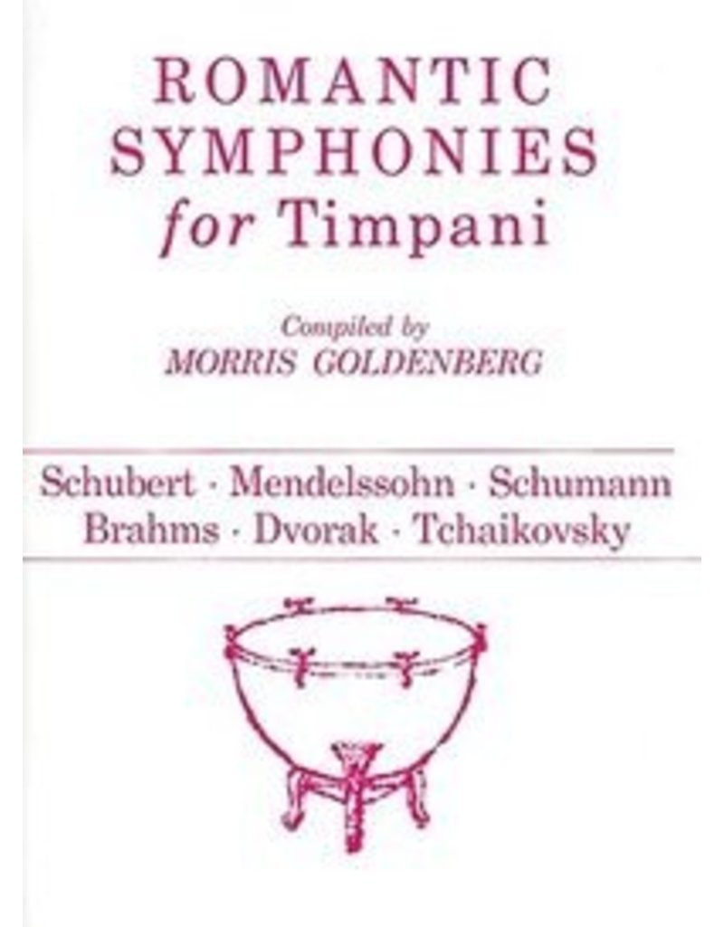 Hal Leonard Romantic Symphonies for Timpani Percussion