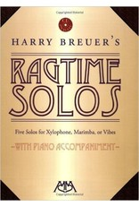 Hal Leonard Harry Breuer's Ragtime Solos Five Solos for Xylophone, Marimba or Vibes Meredith Music Percussion