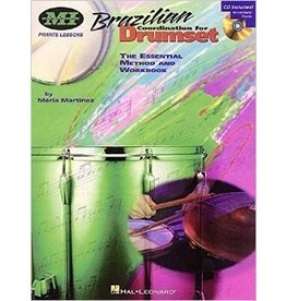 Hal Leonard Brazilian Coordination for Drumset The Essential Method and Workbook by Maria Martinez Private Lessons Musicians Institute Press