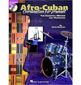 Hal Leonard Afro-Cuban Coordination for Drumset The Essential Method and Workbook by Maria Martinez Musicians Institute Press