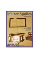 Hal Leonard Master Studies by Joe Morello