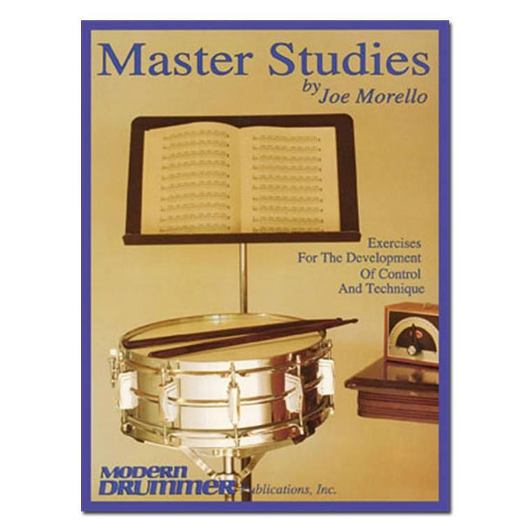 Hal Leonard Master Studies by Joe Morello Percussion