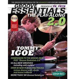 Hal Leonard Vic Firth Presents Groove Essentials 2.0 with Tommy Igoe The Groove Encyclopedia for the Advanced 21st-Century Drummer by Tommy Igoe Percussion