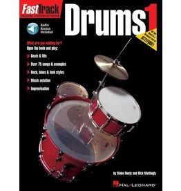 Hal Leonard FastTrack Drum Method - Book 1 by Blake Neely & Rick Mattingly Fast Track Music Instruction