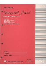 Hal Leonard Standard Loose Leaf Manuscript Paper (Pink Cover) Manuscript Paper