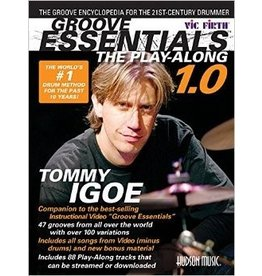 Hal Leonard Groove Essentials The Play-Along - Tommy Igoe