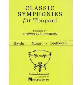 Hal Leonard Classic Symphonies For Timpani Percussion