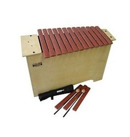 Sonor Xylophone basse Sonor Orff Global Beat Sucupira 16 lames