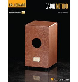 Hal Leonard Cajon Method by Paul Jennings Percussion