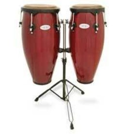 Toca Toca Synergy Congas 10in and 11in with stand