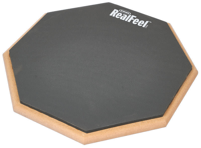 Evans Evans Real Feel Practice pad 12in