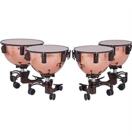 Adams Timbales Adams Revolution, polished copper bowls with fine tuner 23po, 26po, 29po, 32po