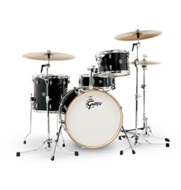 Gretsch Batterie Gretsch Catalina Club 8x12 14x14 14x20 5x14 - Piano Black