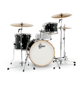 Gretsch Batterie Gretsch Catalina Club 8x12,14x14,14x20 - Piano Black
