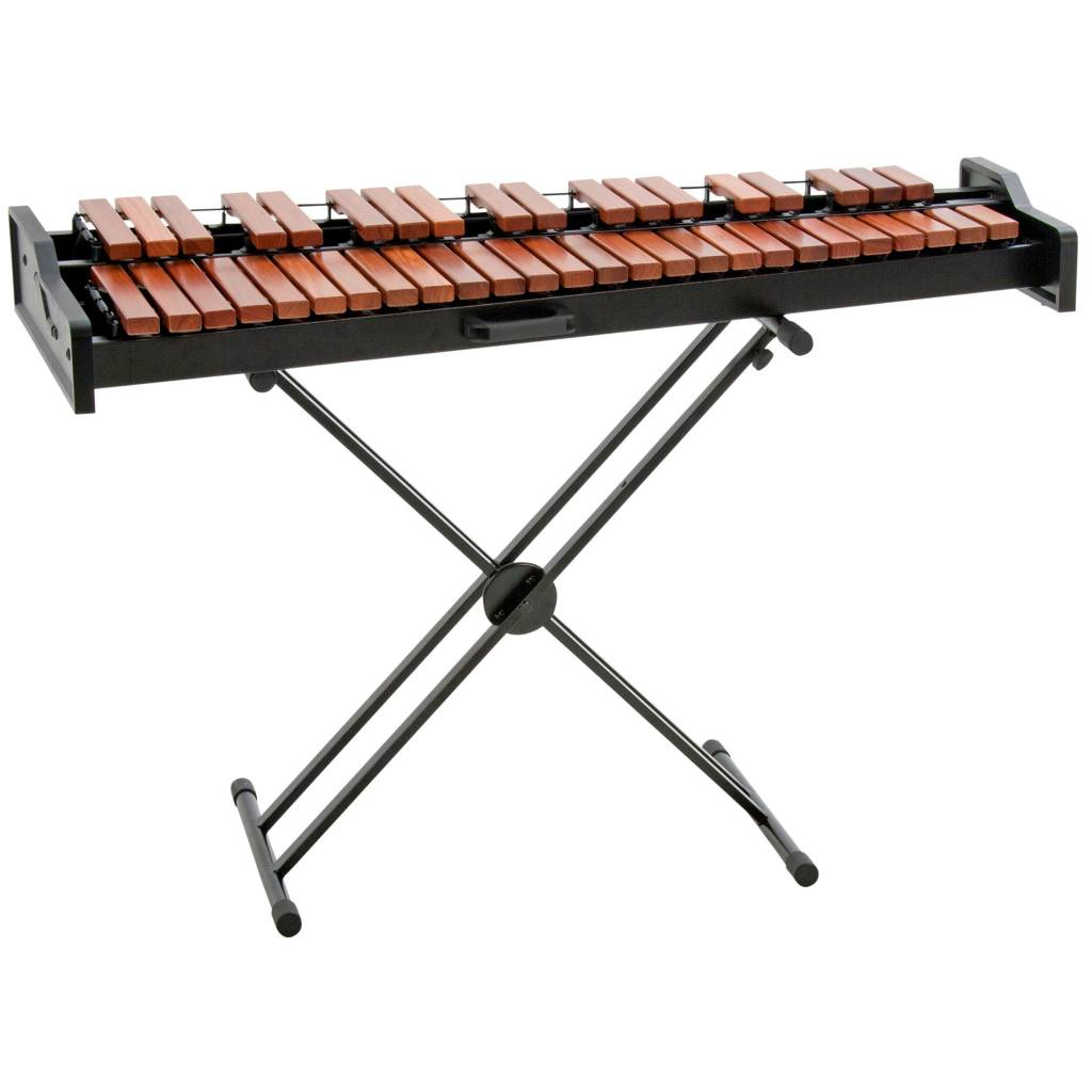 Adams Adams Academy xylophone series 3.5 octaves rosewood bars and X stand