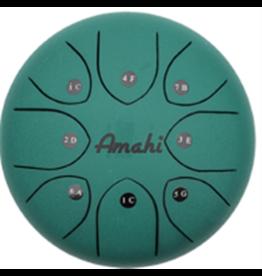 Amahi Amahi Tongue Drum 8in - Green (with bag)