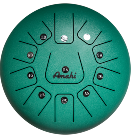 Amahi Amahi Tongue Drum 10in - Green (with bag)