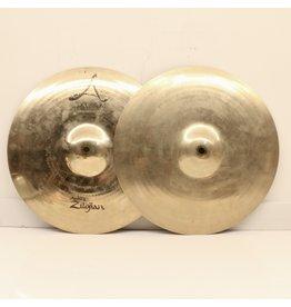 Zildjian Cymbales hi-hat usagées Zildjian A Custom 14po