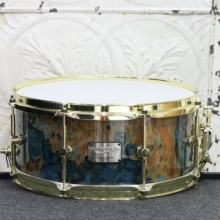 Canopus Canopus Stabilized Wood/Maple Special Edition Snare Drum 14X6.5po
