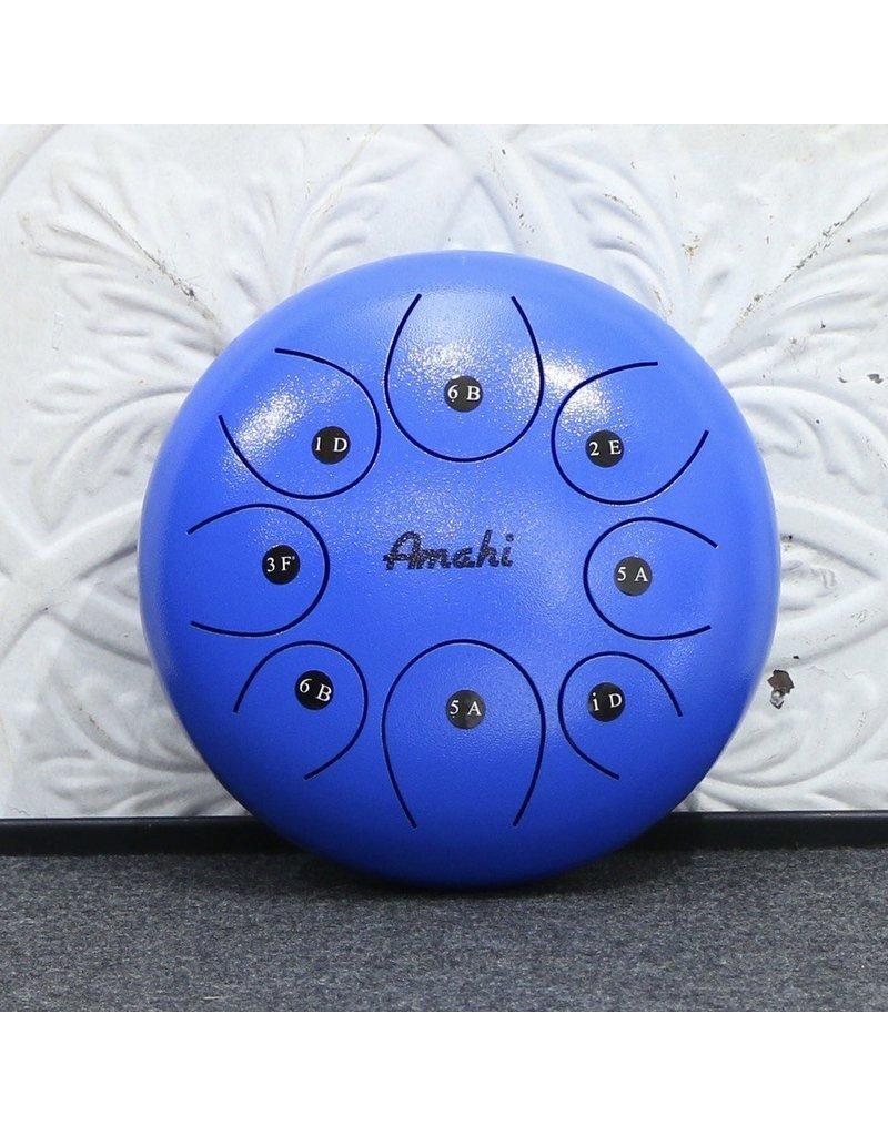 """Amahi Amahi 10"""" Steel Tongue Drum Blue"""