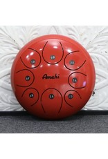 "Amahi Amahi 10"" Steel Tongue Drum Red"