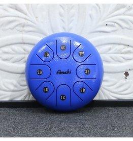 Amahi Tongue Drum Amahi Sol Majeur 6po - bleu (avec étui)
