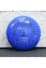 "Amahi Amahi 12"" Steel Tongue Drum Blue"