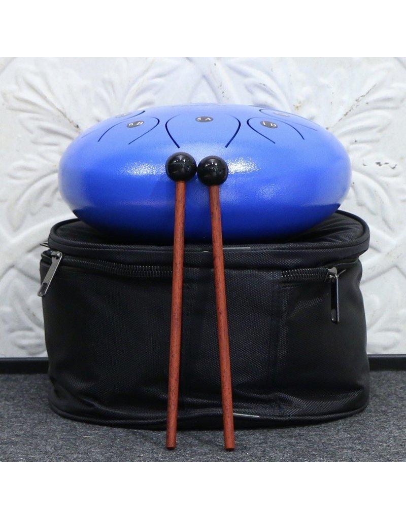 """Amahi Amahi 12"""" Steel Tongue Drum Blue"""