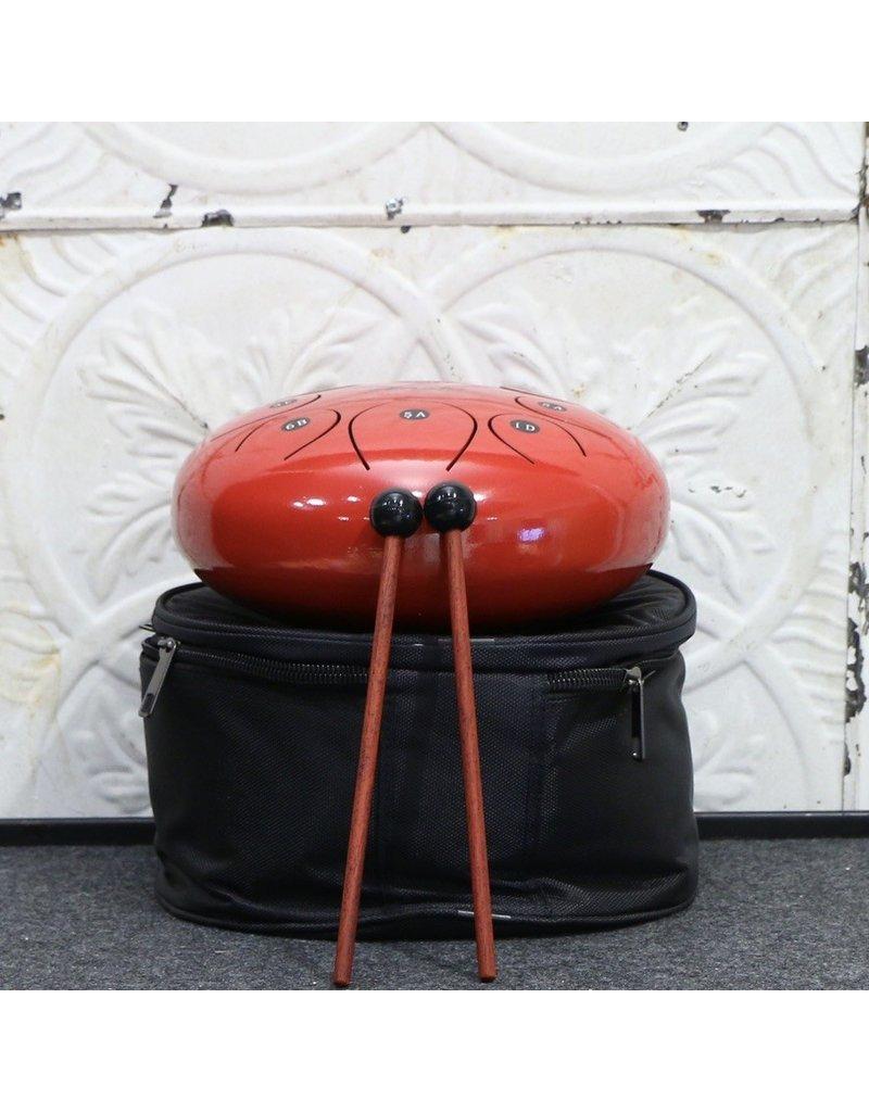 "Amahi Amahi 8"" Steel Tongue Drum Red"