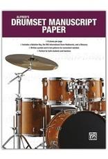 Alfred Music Alfred's Drumset Manuscript Paper