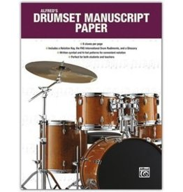 Alfred Music Alfred's Drumset Manuscript Paper