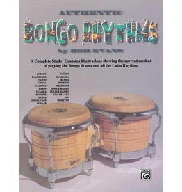 Alfred Music Authentic Bongo Rhythms (Revised)