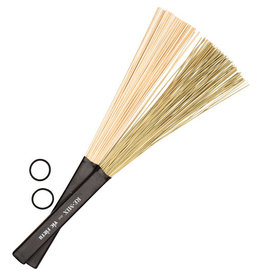 Vic Firth Baguettes Vic Firth REMIX Brushes - Combo Pack (African Grass & Birch)