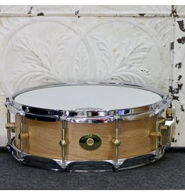 Noble & Cooley Noble & Cooley Snare Drum SS Black Birch 5X14in - Burnt Ale