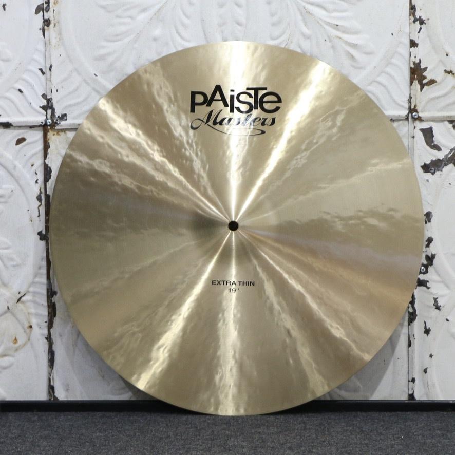 Paiste Used Paiste Masters Extra Thin 19po