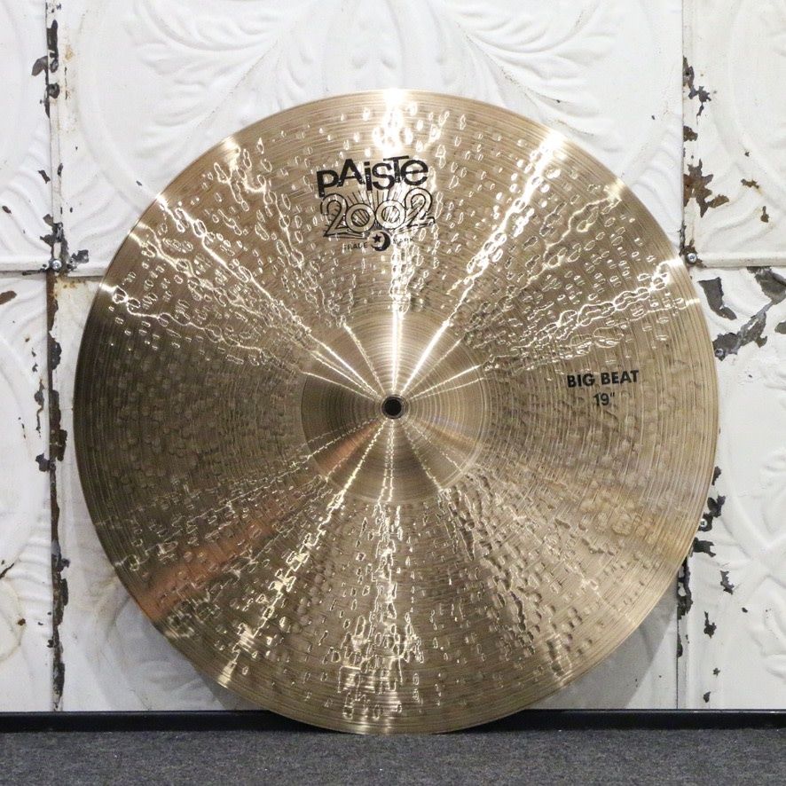 Paiste Paiste 2002 Big Beat Crash/Ride Cymbal 19in (1510g)