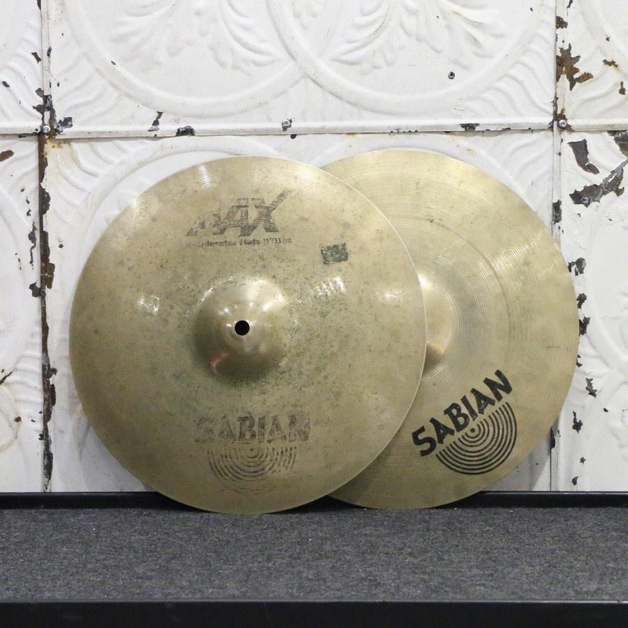 Sabian Used Sabian AAX X-Celerator Hi-Hats 13in (966g/1252g)