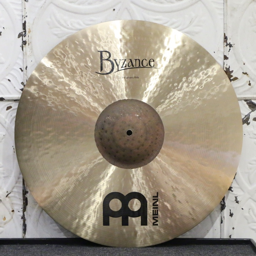 Meinl Meinl Byzance Traditional Polyphonic Ride Cymbal 21in (2364g)