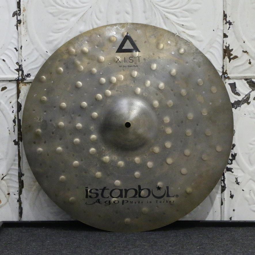 Istanbul Agop Istanbul Agop XIST Dry Dark Ride Cymbal 19in (1974g)