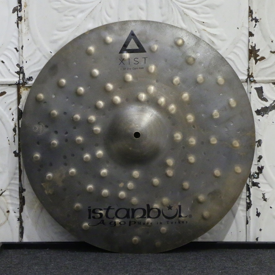 Istanbul Agop Istanbul Agop XIST Dry Dark Ride Cymbal 19in (2076g)