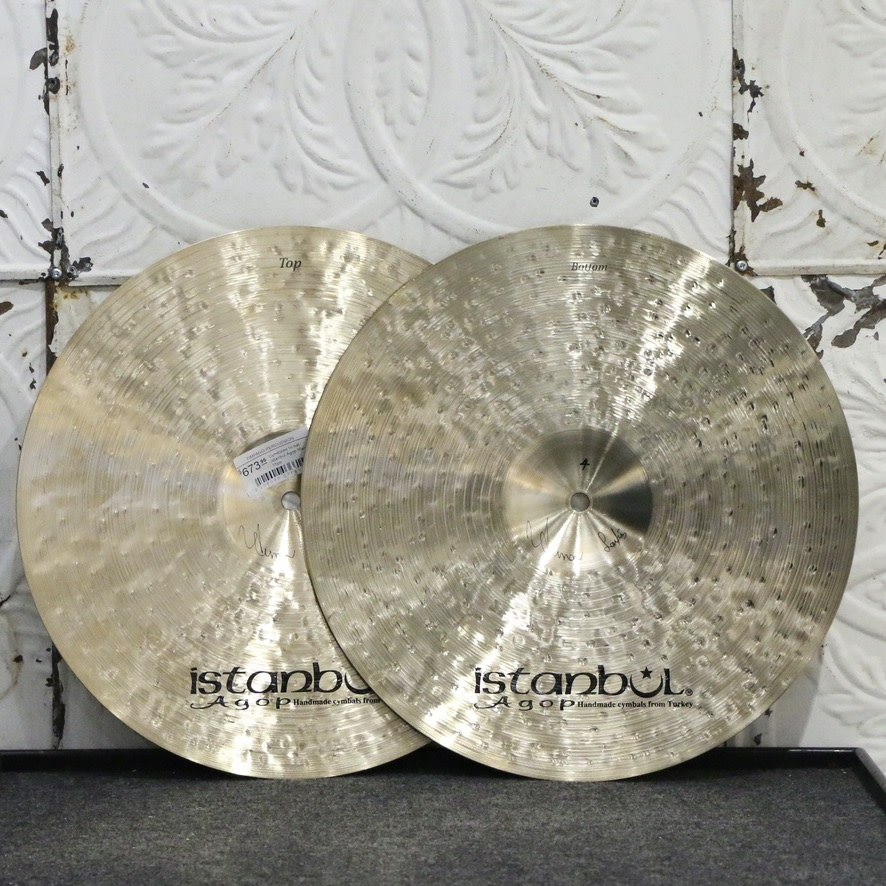 Istanbul Agop Istanbul Agop Mantra Hi-hat Cymbals 15in (980/1180g)