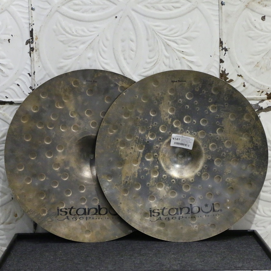 Istanbul Agop Istanbul Agop XIST Dry Dark Hi-Hat Cymbals 17in (968/1518g)