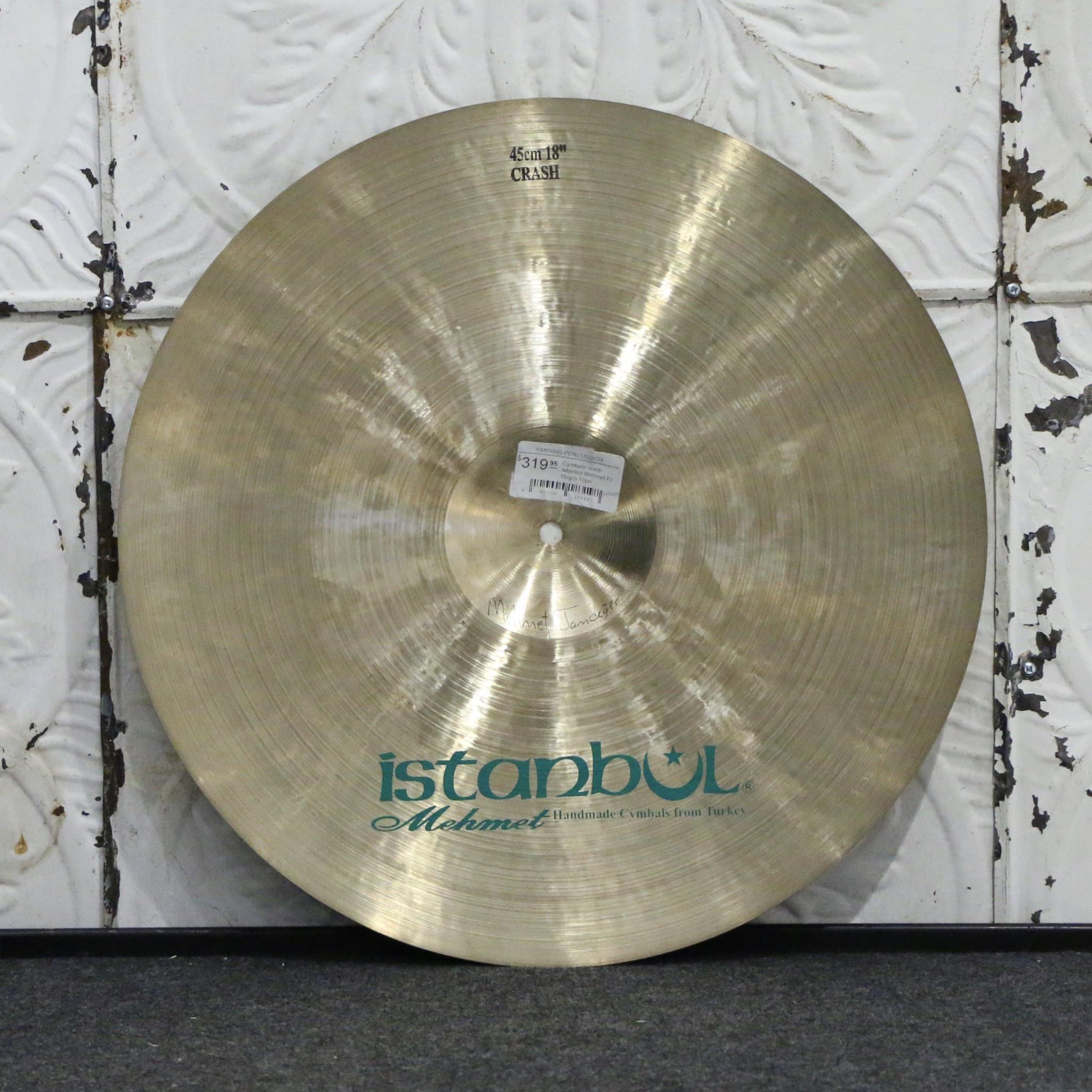 Istanbul Mehmet Istanbul Mehmet El Negro Crash Cymbal 18in (1448g)