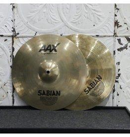 Sabian Cymbales hi-hat usagées Sabian AAX Stage 14po (1004/1486g)
