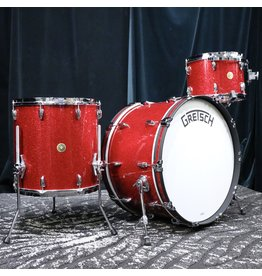 Gretsch Gretsch Broadkaster Drum Kit 24-13-16in - Red Glass