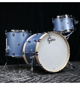 Gretsch Gretsch Brooklyn Drum Kit 22-13-16po - Satin Ice Blue Metallic