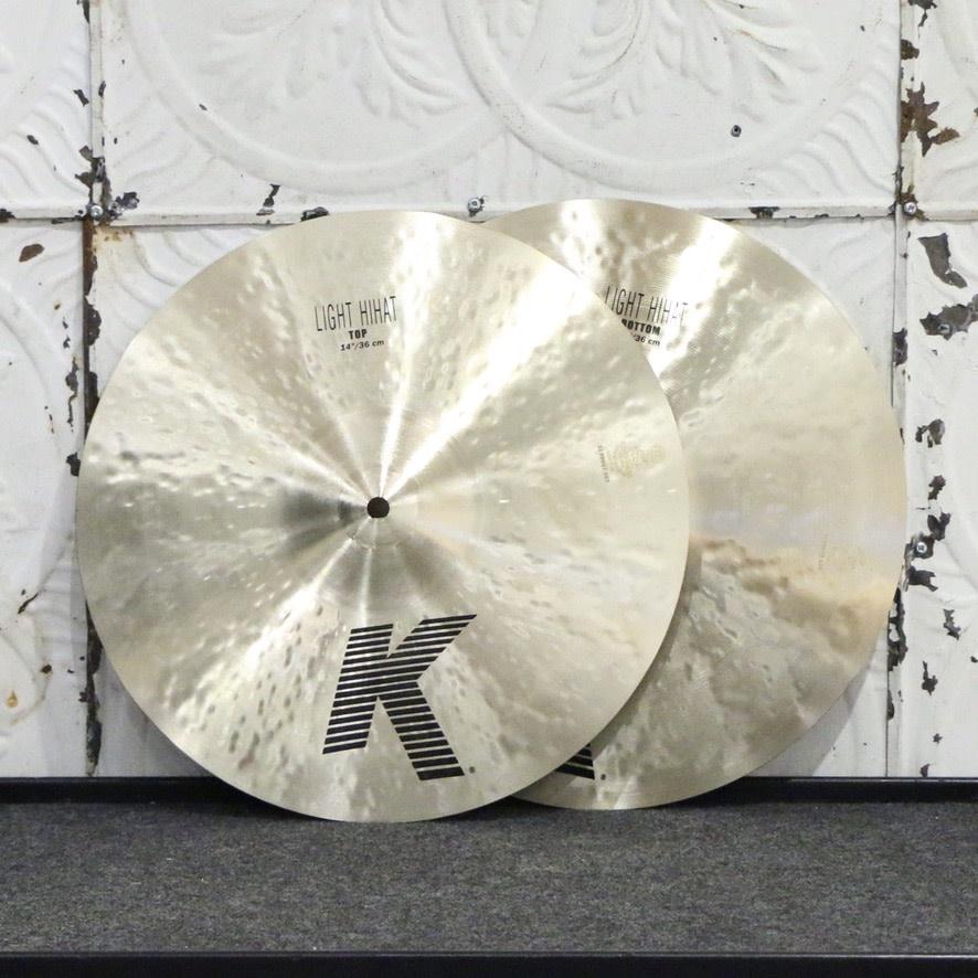 Zildjian Zildjian K Light Hi Hat Cymbals 14in (948/1174g)